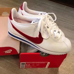 Red, white and blue Nike Cortez - sz 8.5